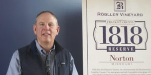 Robller Vineyard 1818 Norton unveiling